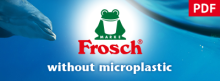 Frosch without microplastic
